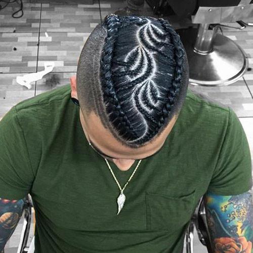 Braids Hairstyle For Men  Braids For Men The Man Braid 2019