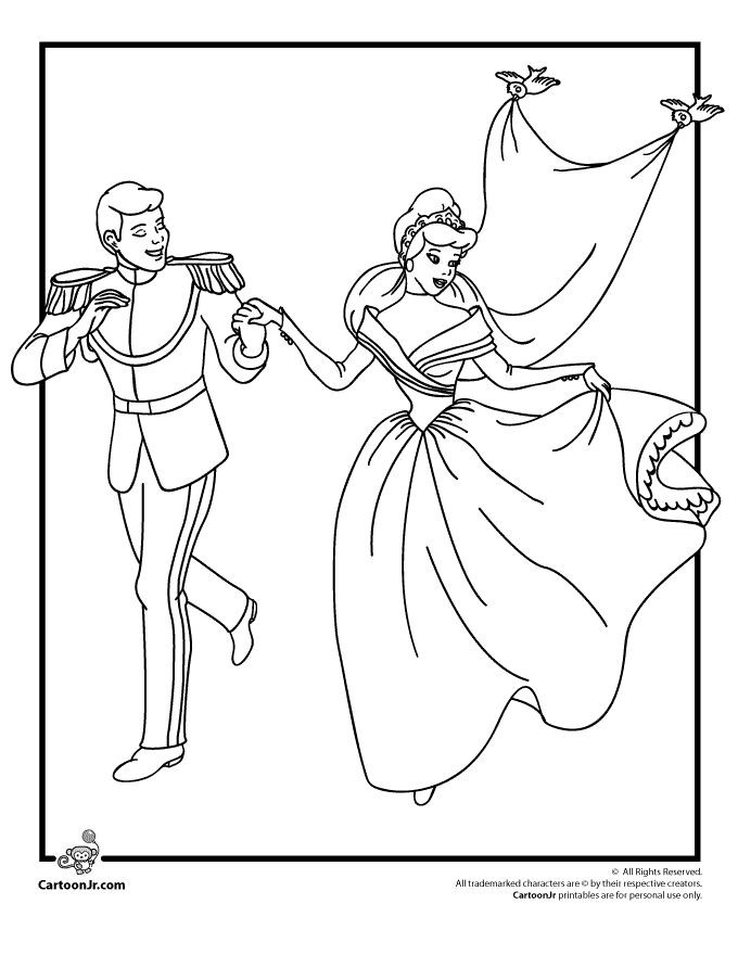 Bride Coloring Pages  Drawn bride coloring page Pencil and in color drawn