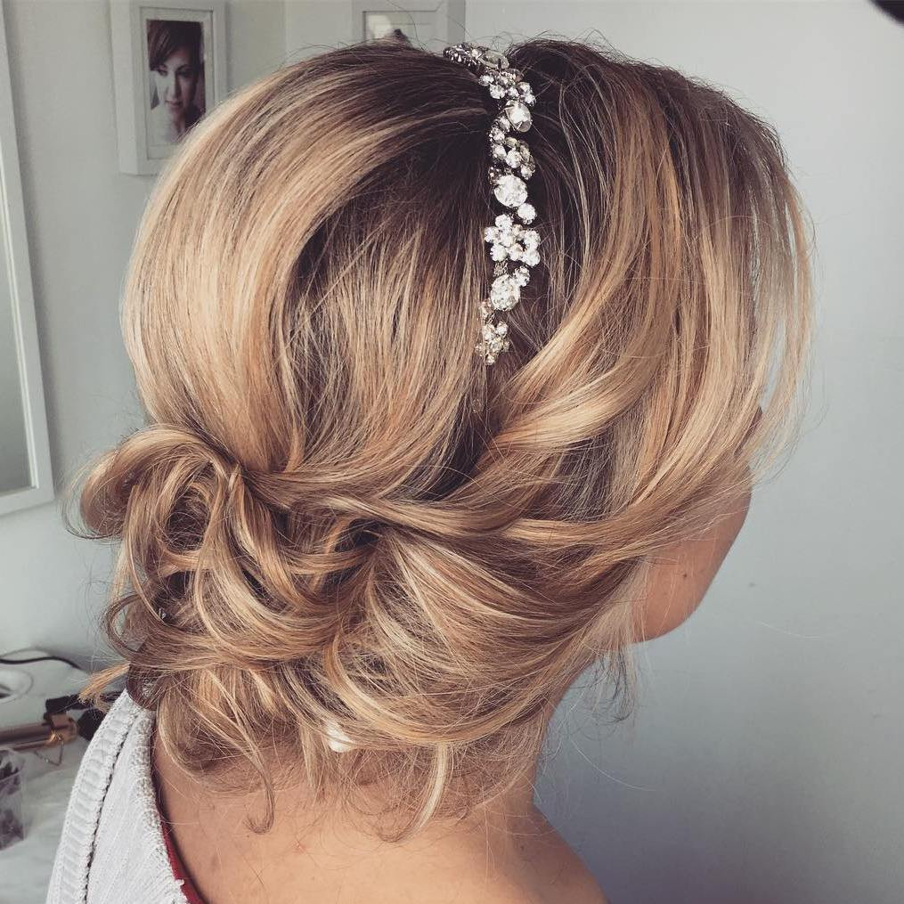 Bridesmaid Hairstyle  30 Beautiful Wedding Hairstyles – Romantic Bridal