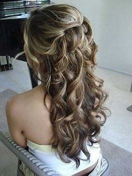 Bridesmaid Hairstyle  25 Bridesmaids Hairstyles for Long Hair