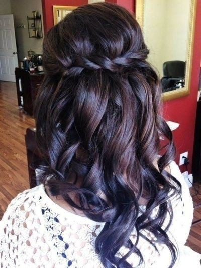 Bridesmaid Hairstyles Down  30 Hottest Bridesmaid Hairstyles For Long Hair PoPular