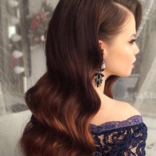 Bridesmaid Hairstyles Down  50 Delicate Bridesmaid Hairstyles