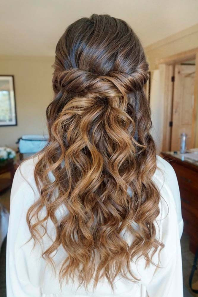 Bridesmaid Hairstyles Down  Best 25 Curly bridesmaid hairstyles ideas on Pinterest