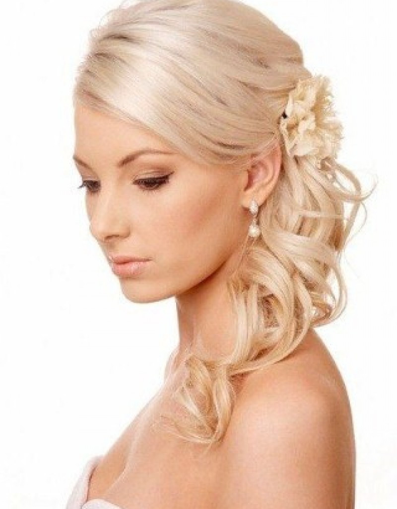 Bridesmaid Hairstyles For Thin Hair  Wedding Hairstyles For Thin Curly Hair Hollywood ficial