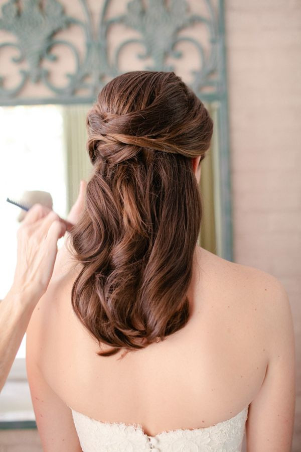 Bridesmaid Hairstyles Half Up  Unique Creative and Gorgeous Wedding Hairstyles for Long