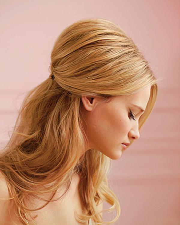 Bridesmaid Hairstyles Half Up  Half Up and Half Down Bridal Hairstyles Women Hairstyles