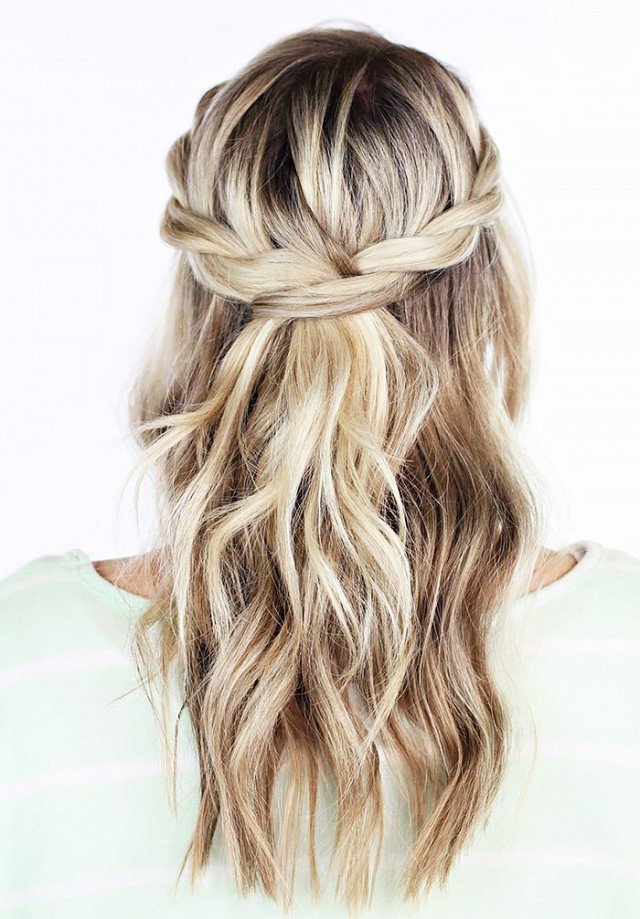 Bridesmaid Hairstyles Half Up  20 Awesome Half Up Half Down Wedding Hairstyle Ideas