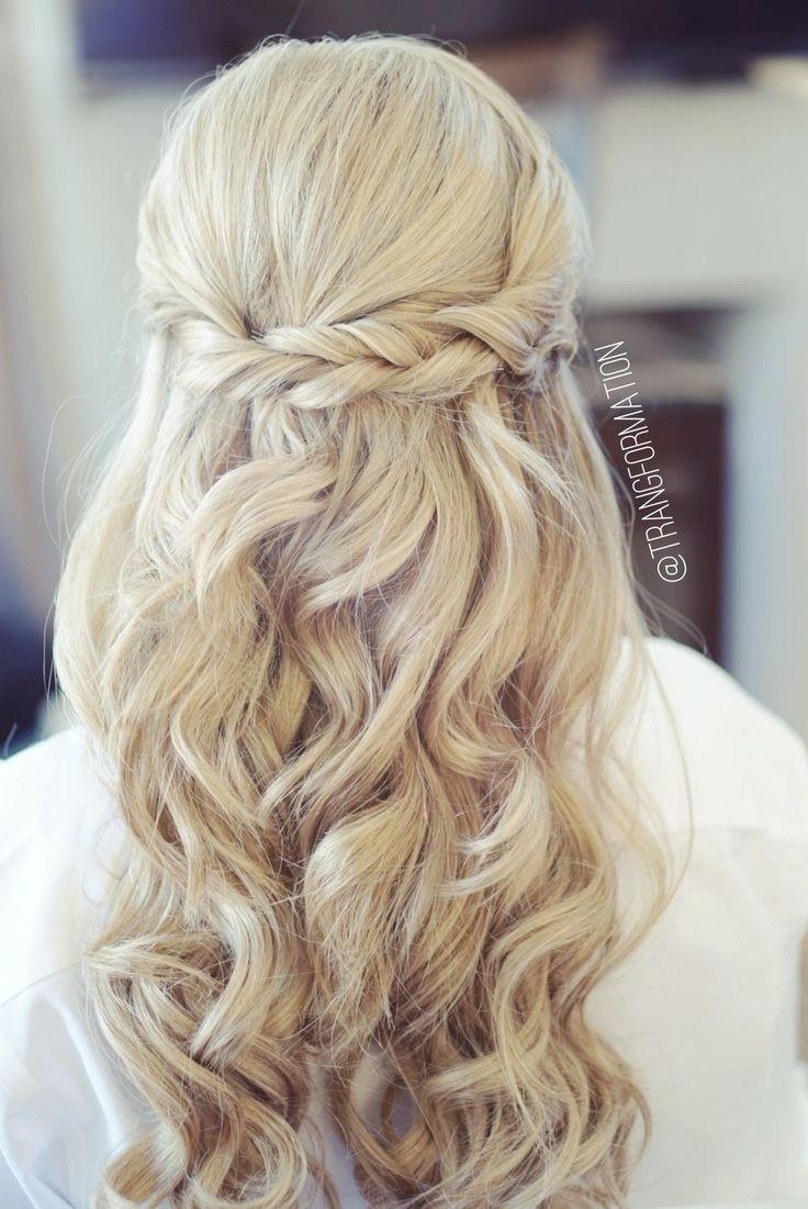 Bridesmaid Hairstyles Up  Half Up Bridal Hairstyles