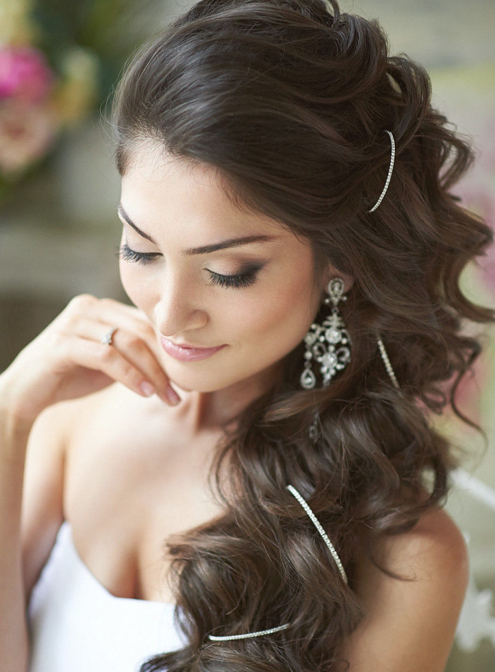 Bridesmaid Side Hairstyles  18 Wedding Hairstyles You Must Have Pretty Designs