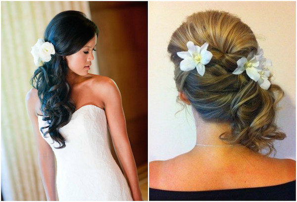Bridesmaid Side Hairstyles  Side Swept
