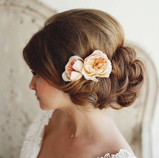 Bridesmaid Side Hairstyles  35 Wedding Hairstyles Discover Next Year's Top Trends for