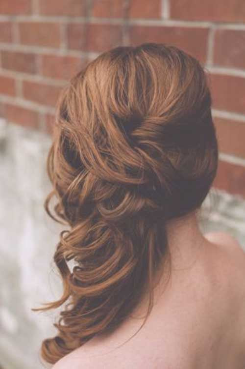 Bridesmaid Side Hairstyles  25 Best Bridesmaid Hairstyles for Long Hair