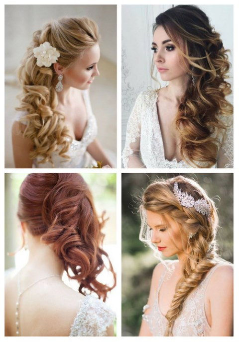 Bridesmaid Side Hairstyles  40 Gorgeous Side Swept Wedding Hairstyles