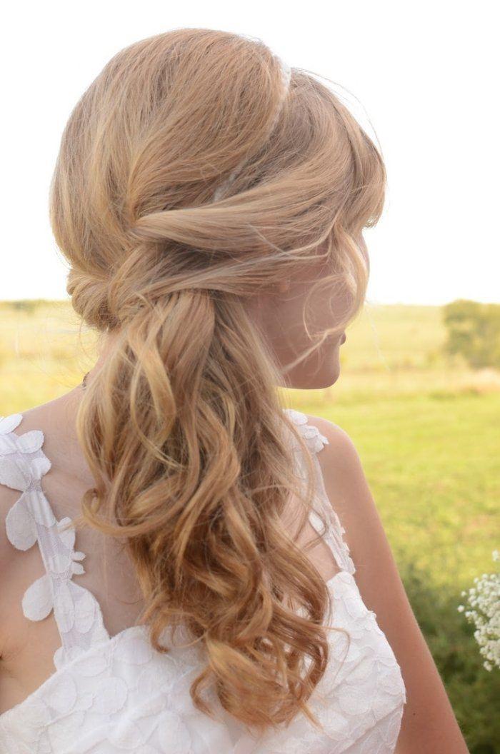 Bridesmaid Side Hairstyles  Die besten 25 Frisur seitlich Ideen auf Pinterest