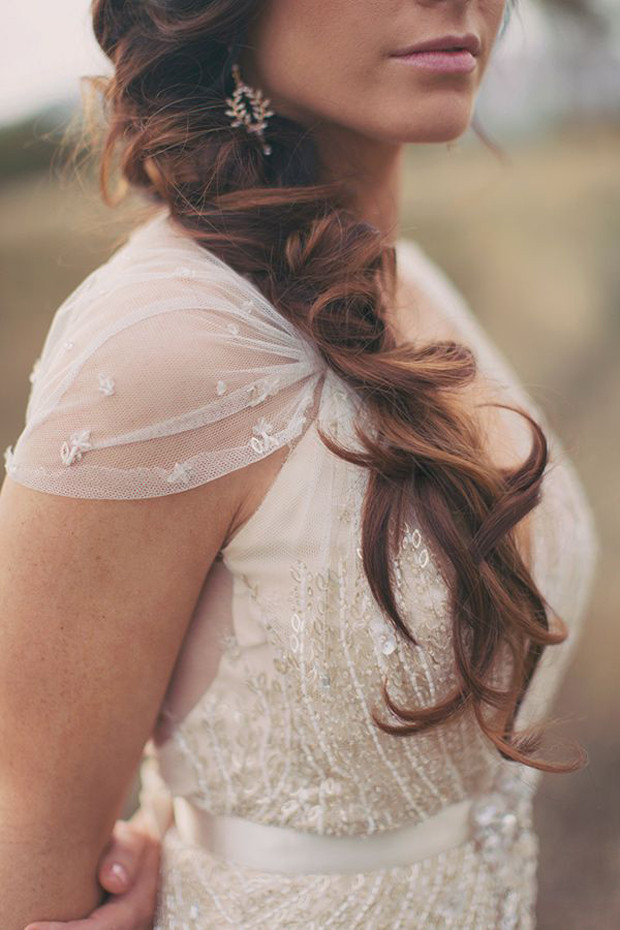Bridesmaid Side Hairstyles  Messy Hair Don t Care 16 Messy Bridal Hairstyles That