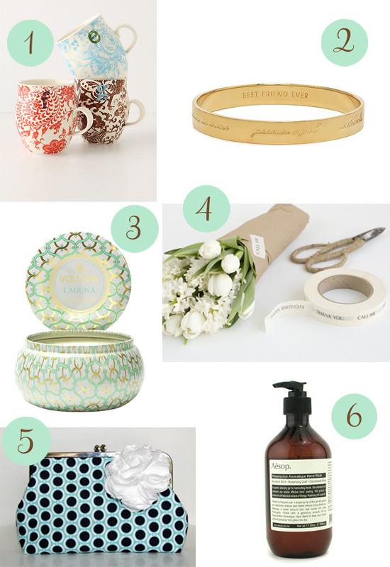 Bridesmaid Thank You Gift Ideas  Thank You Gift Ideas Polka Dot Bride