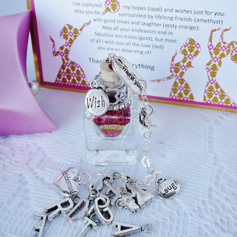 Bridesmaid Thank You Gift Ideas  Bridesmaid Thank You Gifts from Captured Wishes