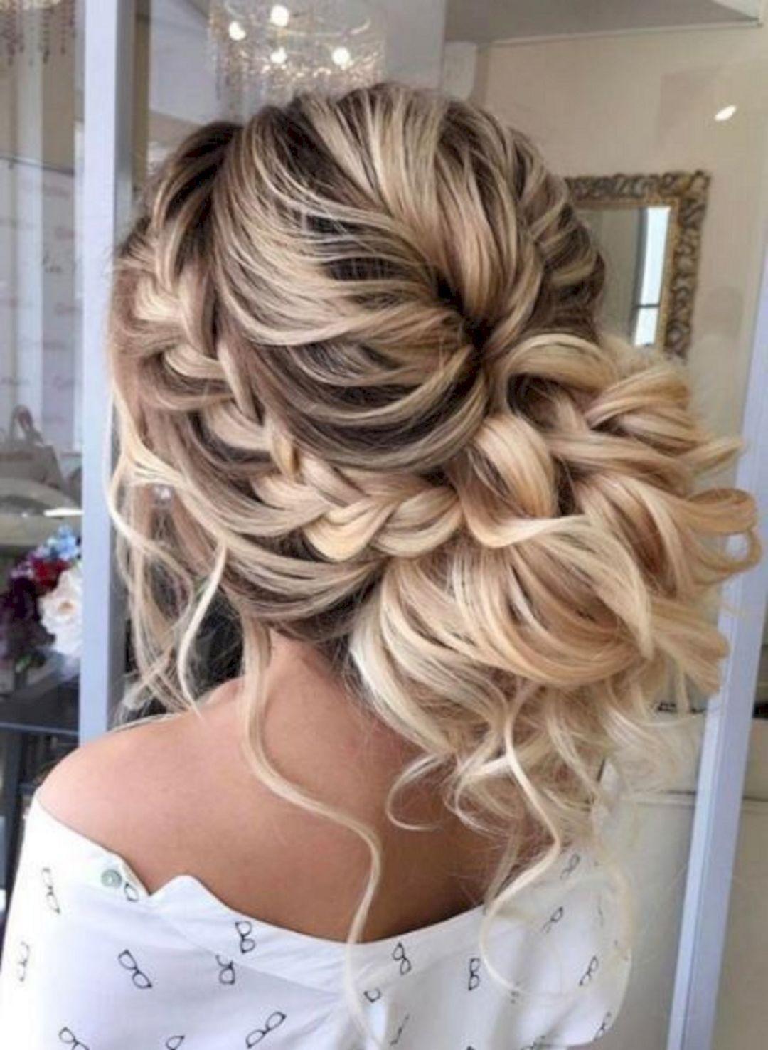 Bridesmaids Hairstyles  Wedding Bridesmaid Hairstyles for Long Hair – OOSILE