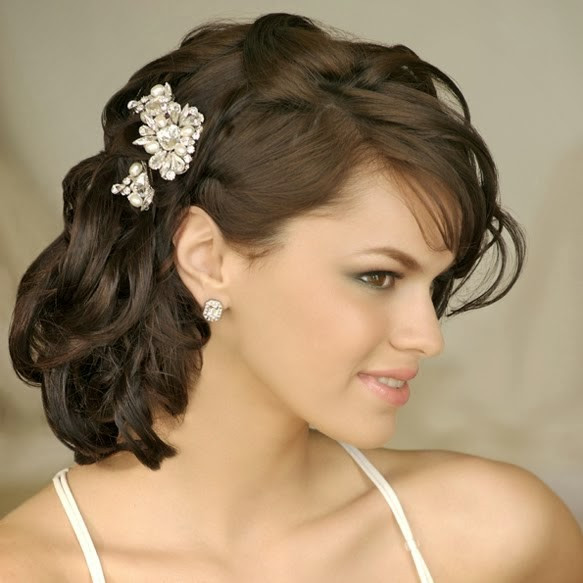 Bridesmaids Hairstyles For Medium Length Hair  Medium Length Wedding Hairstyles Wedding Hairstyle