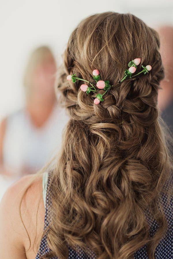 Bridesmaids Hairstyles Half Up  19 Bridesmaid Hairstyle Designs Ideas
