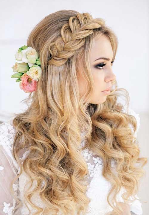 Bridesmaids Hairstyles Half Up  25 Best Bridesmaid Hairstyles for Long Hair