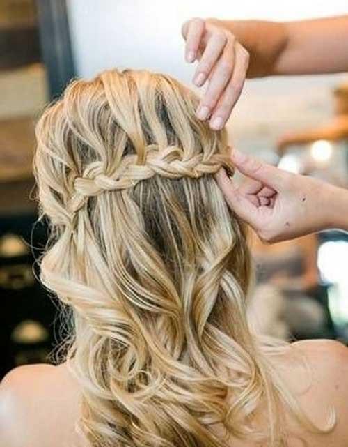 Bridesmaids Hairstyles Half Up  20 Nice Bridal Hairstyles