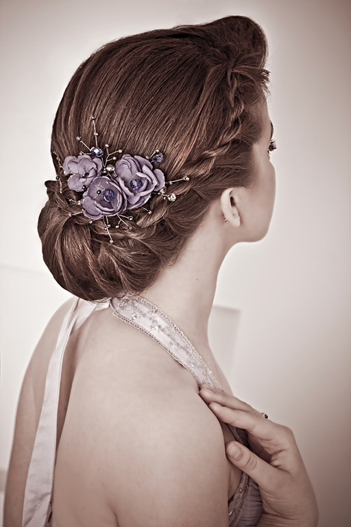Bridesmaids Hairstyles Up  Chic Updo Hairstyles for Bridesmaids Twist