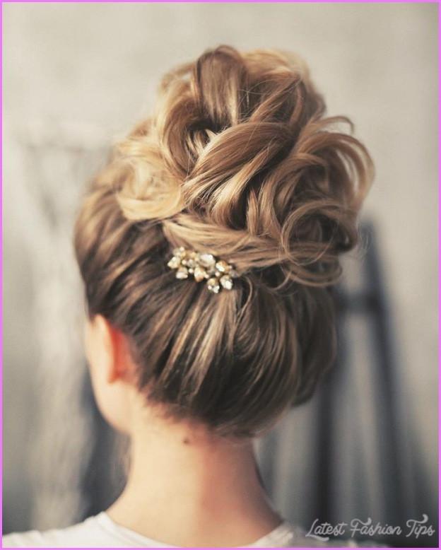Bridesmaids Hairstyles Up  Wedding Hairstyles Updo LatestFashionTips