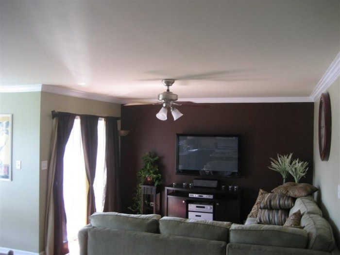 Best ideas about Brown Accent Walls . Save or Pin Download Brown Accent Wall Dark Brown Living Room Now.