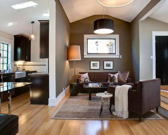 Best ideas about Brown Accent Walls . Save or Pin 43 best images about Cream Brown Living Room Blue Green Now.