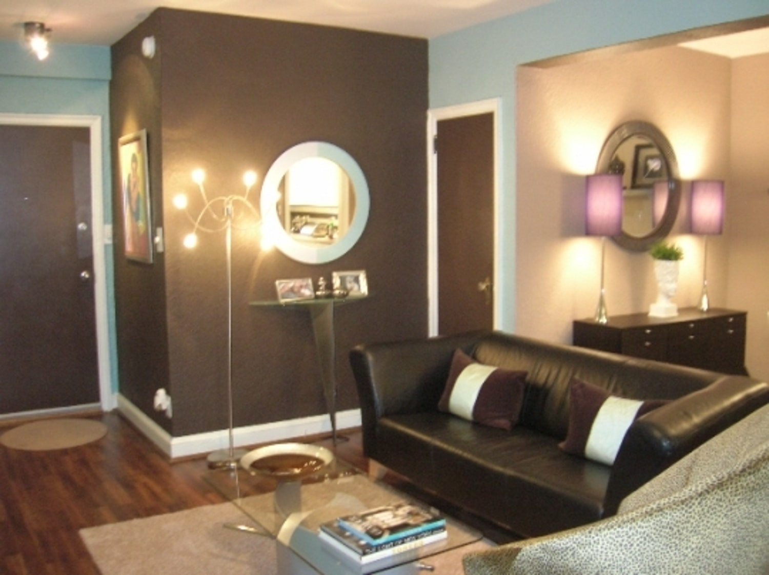 Best ideas about Brown Accent Walls . Save or Pin 39 Brown Accent Wall In Living Room Modern Living Room Now.