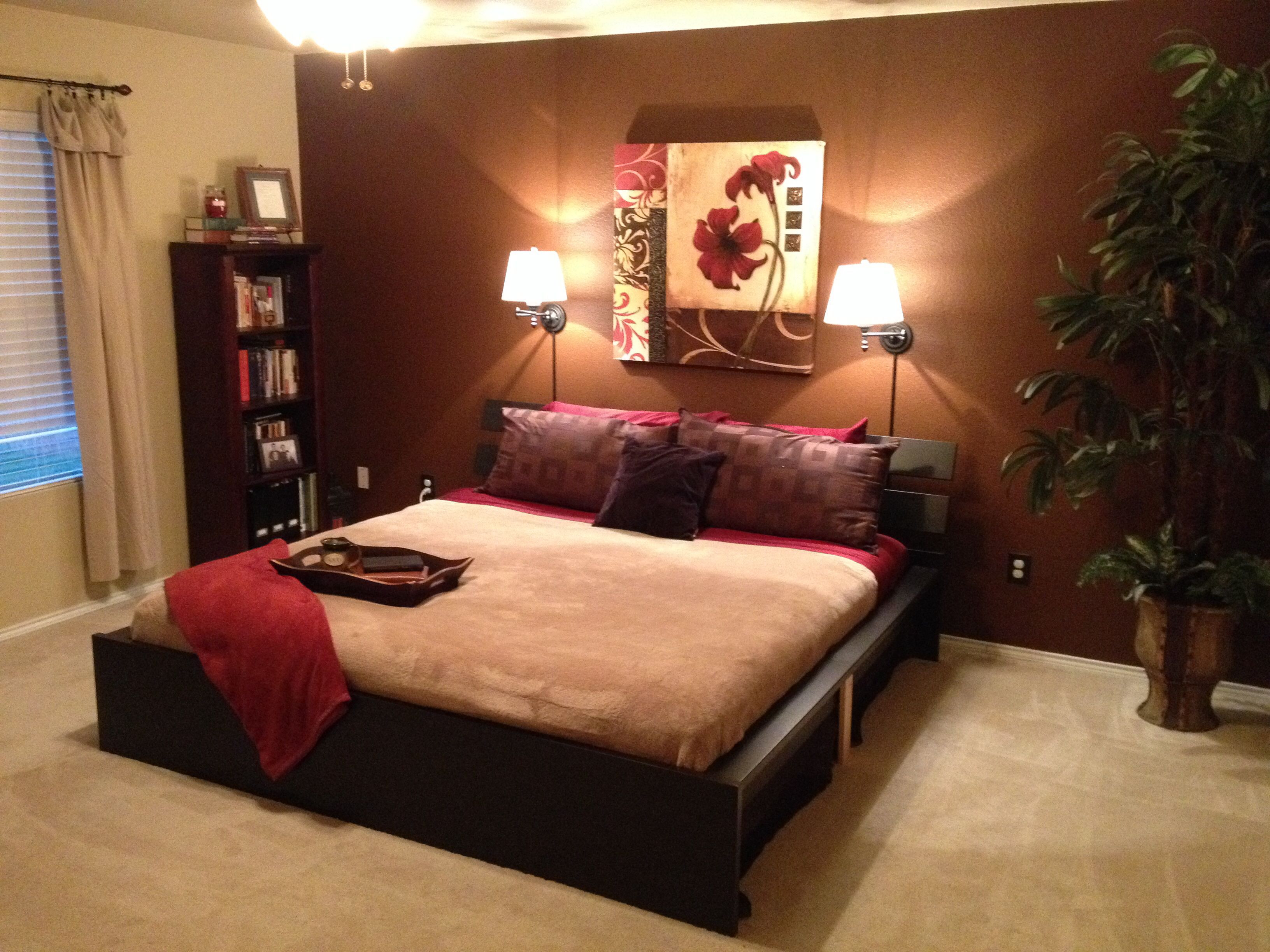 Best ideas about Brown Accent Walls . Save or Pin Brown accent wall master bedroom Dream Home Now.