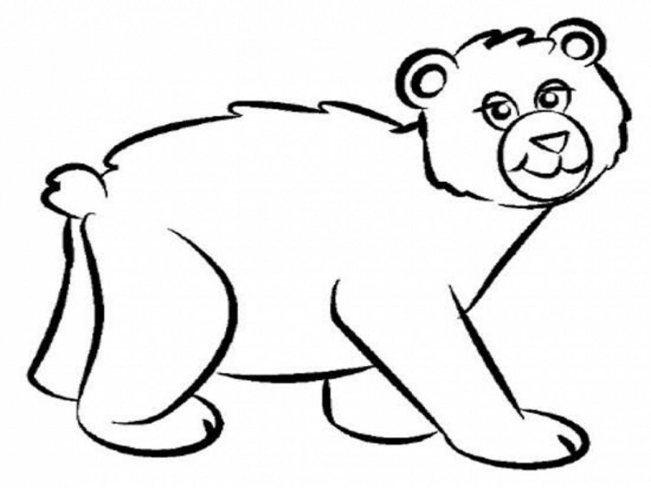 Brown Bear Brown Bear Coloring Pages  Brown Bear Coloring Pages Coloringsuite grig3