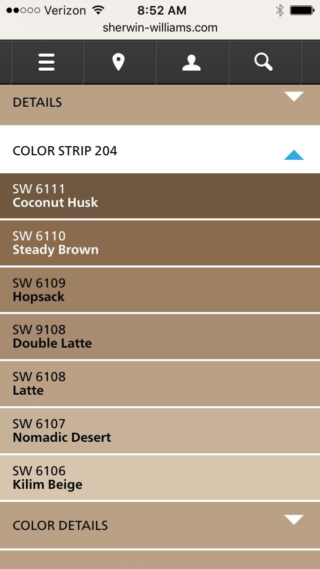 Best ideas about Brown Paint Colors . Save or Pin 36 best beige sherwin williams 4 living room images on Now.
