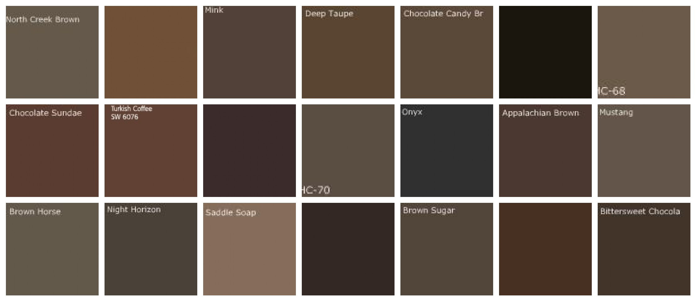 Best ideas about Brown Paint Colors . Save or Pin Fluidr Dark brown paint colors Designers favorite Now.
