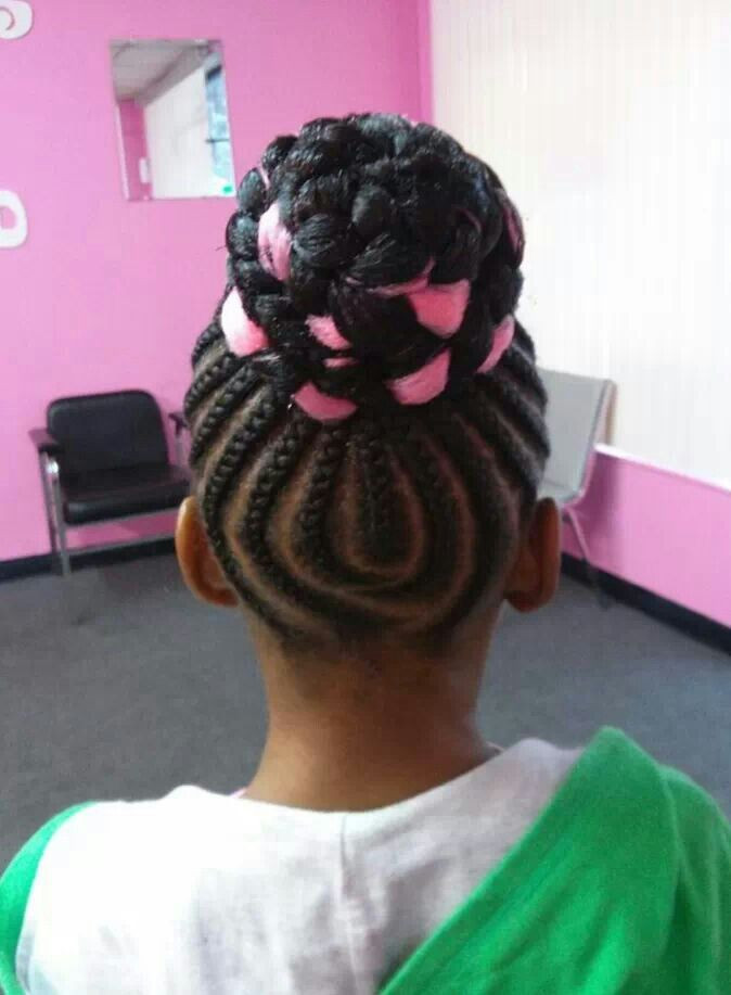 Best ideas about Bun Hairstyles For Kids . Save or Pin Creative and Cute Braid Styles for Kids Hairstyle For Women Now.