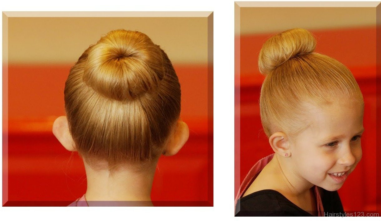 Best ideas about Bun Hairstyles For Kids . Save or Pin Kids Hairstyles Page 2 Now.