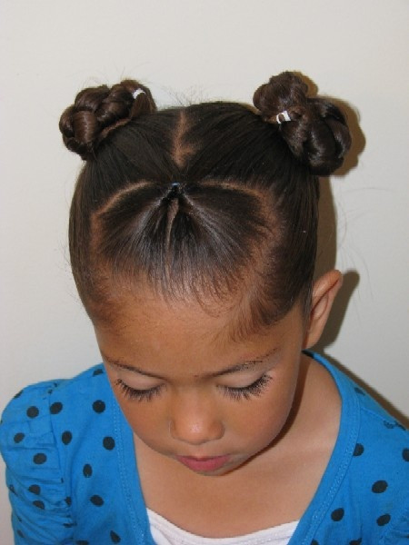 Best ideas about Bun Hairstyles For Kids . Save or Pin Kids Hairstyles Page 10 Now.