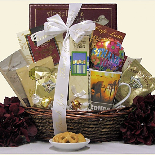 Business Thank You Gift Ideas  Warm Thanks Corporate Thank You Gift Basket