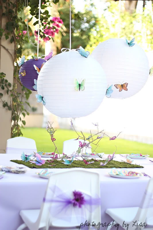 Best ideas about Butterfly Birthday Decorations . Save or Pin Butterfly Birthday Party Ashley Hackshaw Lil Blue Boo Now.