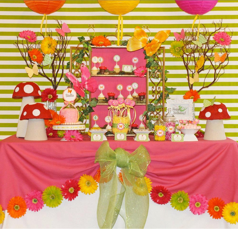 Best ideas about Butterfly Birthday Decorations . Save or Pin Butterfly Themed Birthday Parties Now.