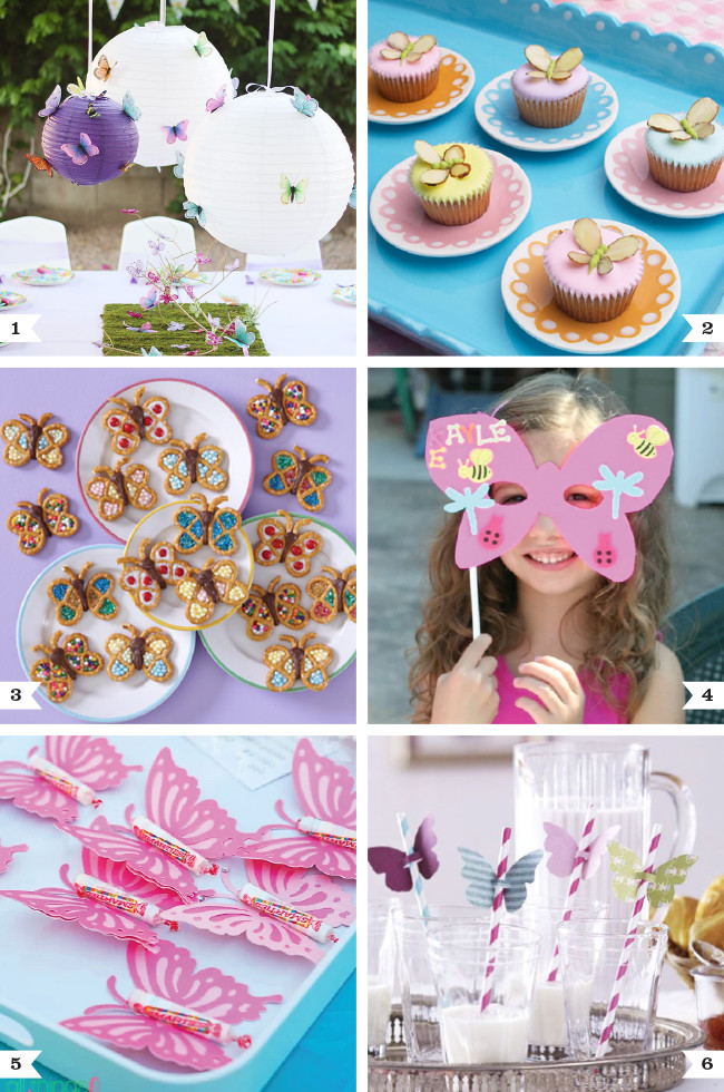 Best ideas about Butterfly Birthday Decorations . Save or Pin DIY butterfly party ideas Now.