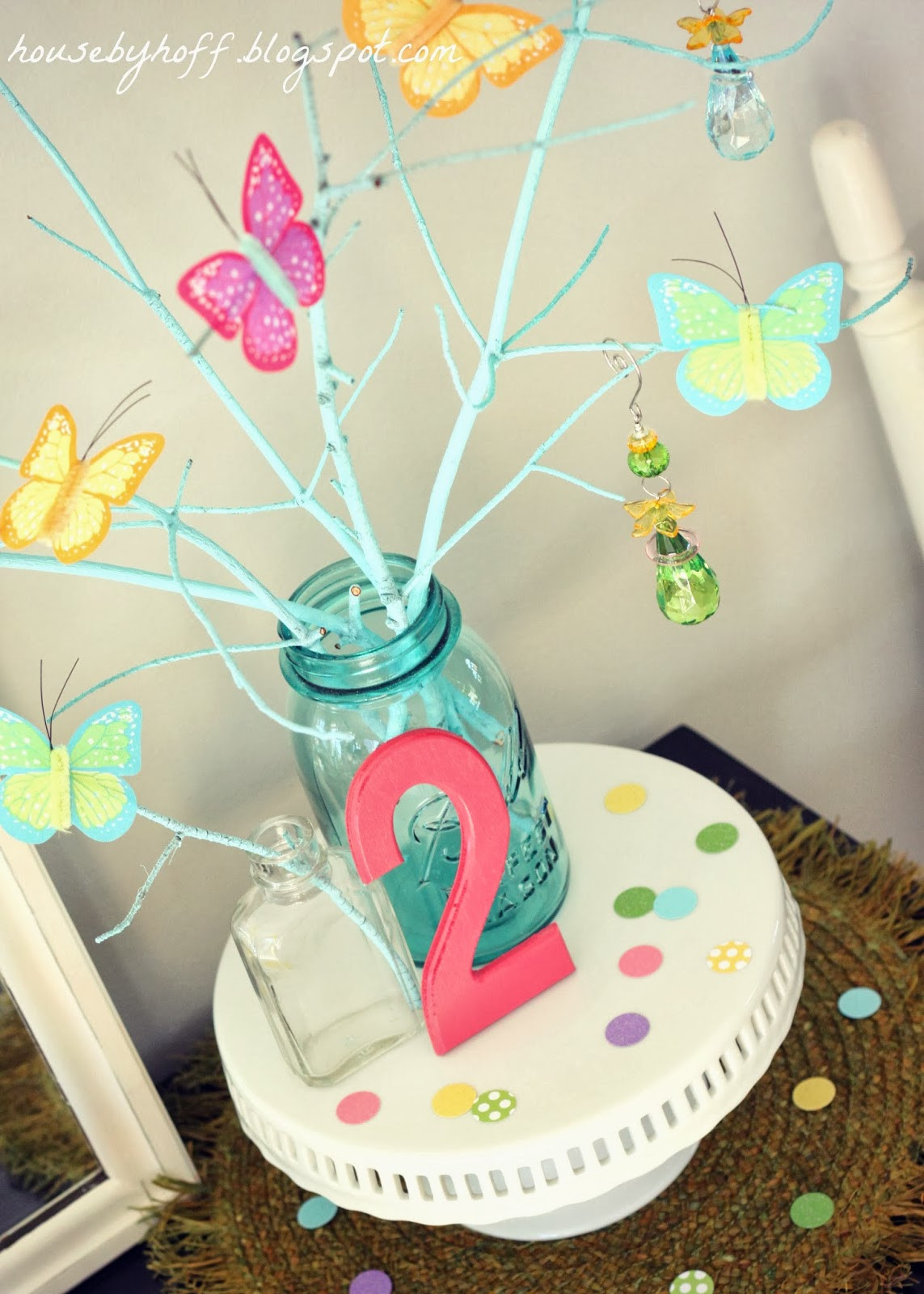Best ideas about Butterfly Birthday Decorations . Save or Pin A Butterfly Picnic Birthday Party House by Hoff Now.