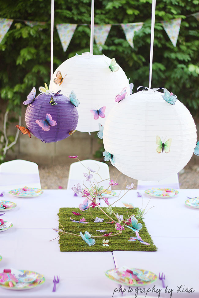 Best ideas about Butterfly Birthday Decorations . Save or Pin Butterfly party Elle is 3 Now.