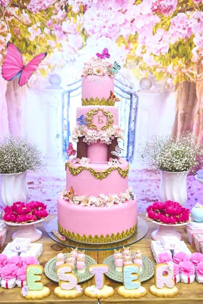 Best ideas about Butterfly Birthday Decorations . Save or Pin Kara s Party Ideas Pink Butterfly Garden Birthday Party Now.