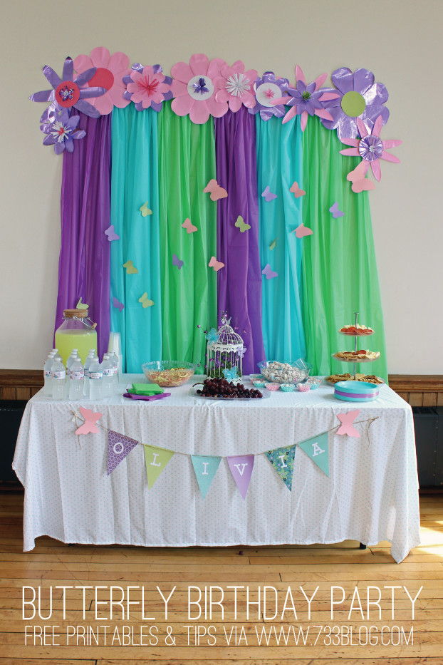 Best ideas about Butterfly Birthday Decorations . Save or Pin Butterfly Birthday Party Inspiration Made Simple Now.