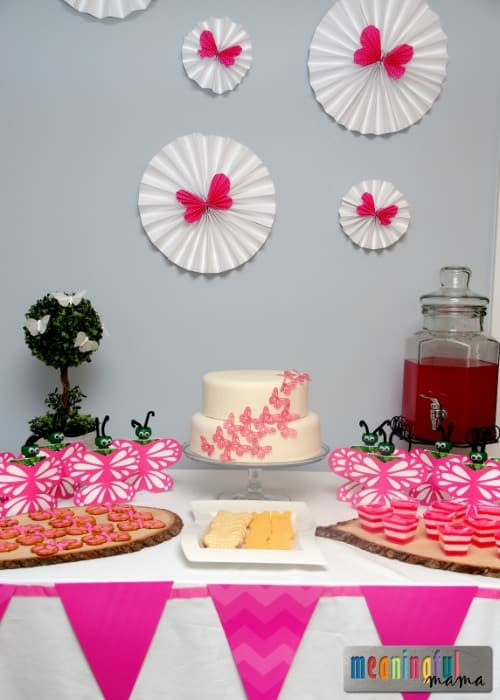 Best ideas about Butterfly Birthday Decorations . Save or Pin Butterfly Birthday Party Ideas Now.