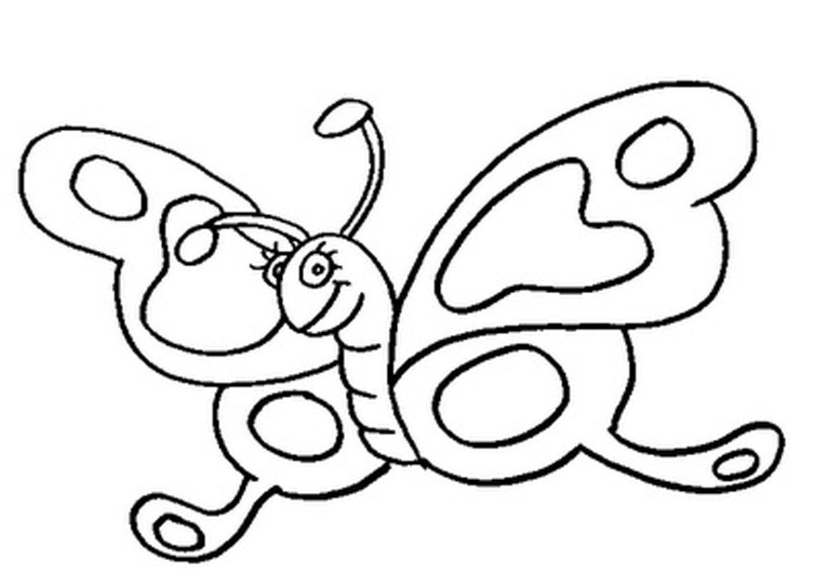 Butterfly Coloring Pages For Kids  Free Printable Butterfly Coloring Pages For Kids