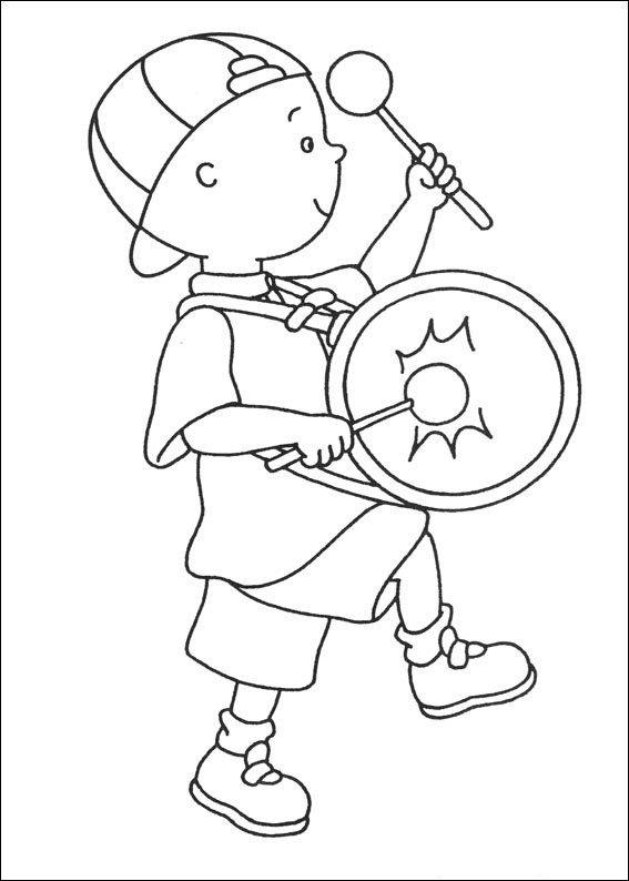 Caillou Printable Coloring Pages  Free Printable Caillou Coloring Pages For Kids