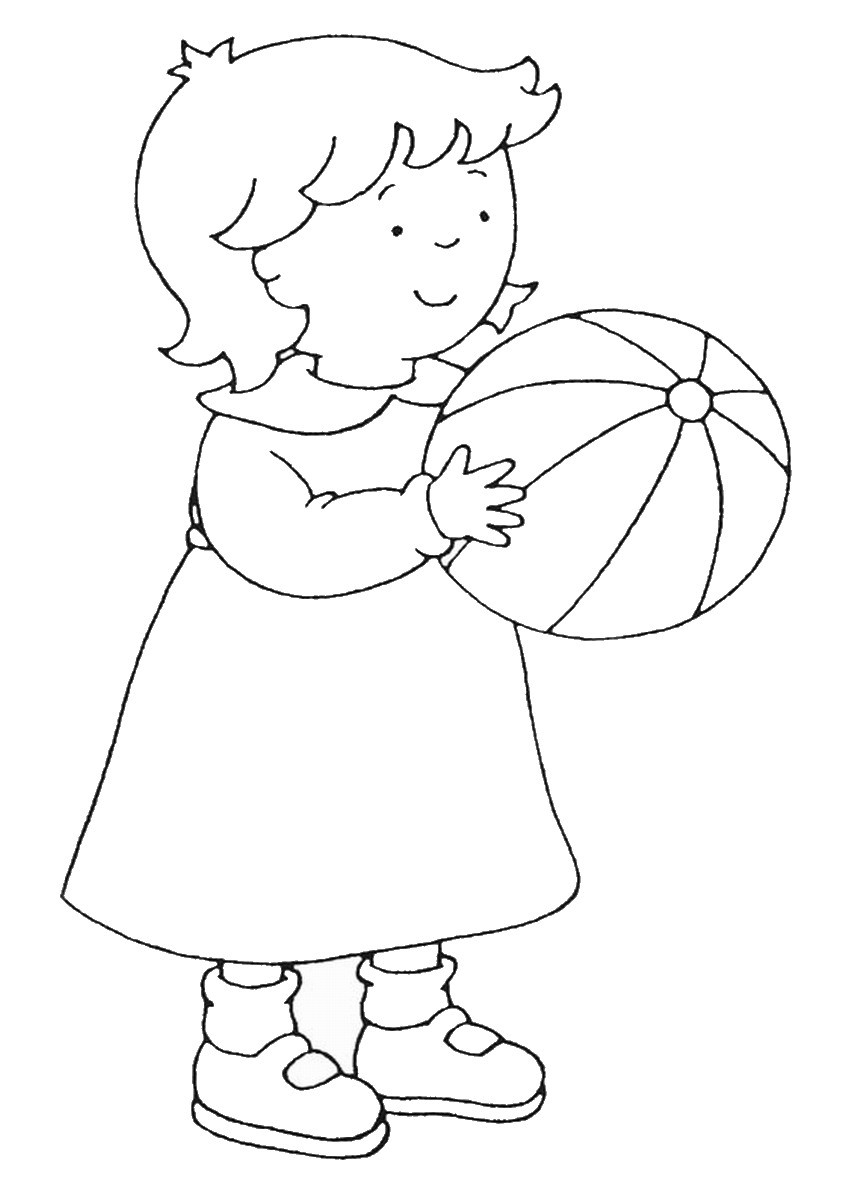 Caillou Printable Coloring Pages  Caillou Coloring Pages – Birthday Printable